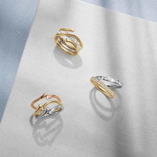 vielsesringe guld fra Dirks Jewellery
